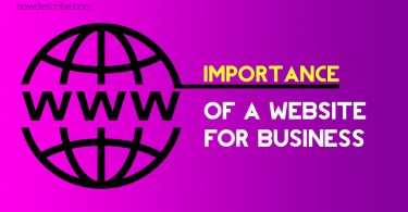 importance of a website for a business